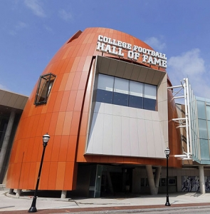 College Football Hall of Fame, Atlanta GA